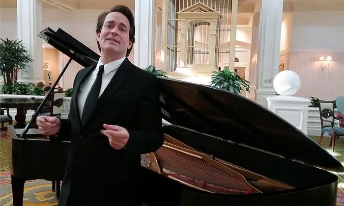 Mark Steven Schmidt: The Greatest Tenor! Singing Broadway's Greatest Songs! - Mount Dora Community Building: Mark Steven Schmidt on Sunday, September 20 at 3 p.m.