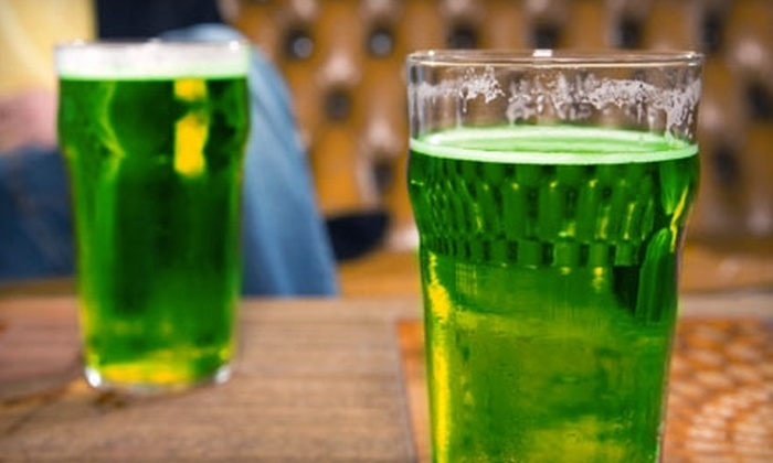 The Abbey Pub - Irving Park: $14 for Two Admissions to St. Patrick's Day Festival and Two Green Beers at The Abbey Pub ($28 Value). Choose Between Two Options.