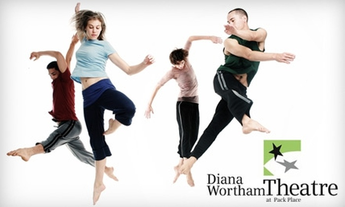 Diana Wortham Theatre - Downtown Ashville: $17 for One Regular Ticket to Doug Varone and Dancers at the Diana Wortham Theatre ($35 Value). Choose Between Two Performances.