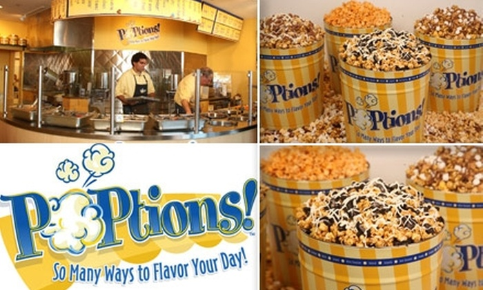 Poptions - San Diego: $15 for $30 Worth of Gourmet Popcorn and Half Off Shipping at POPtions!