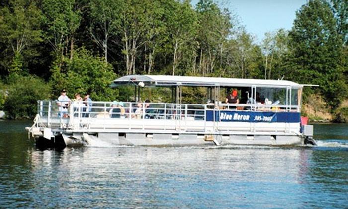 Blue Heron Cruises - Ashland City: $11 for a 90-Minute Nature Cruise for Two from Blue Heron Cruises (Up to $22 Value)