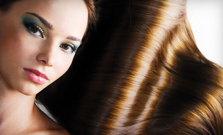 Keratin Smoothing Treatment for Hair That Falls to or Above the Shoulders (a $200 value) - True Colors Hair Salon in Tampa