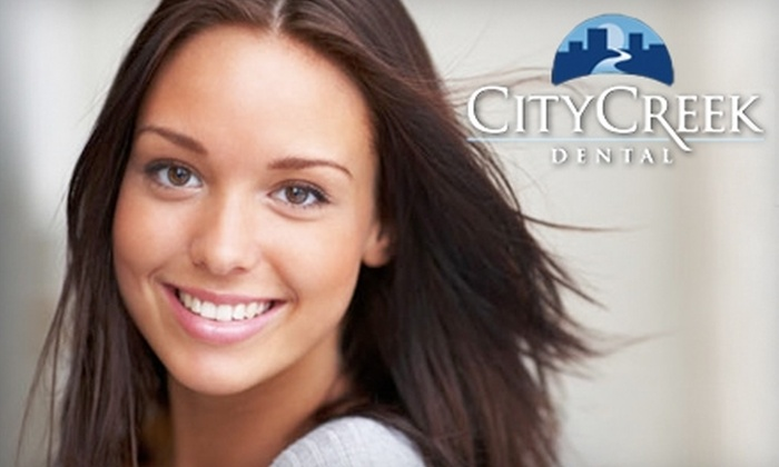 City Creek Dental - Rio Grande: $49 for a Basic Dental Exam, Cleaning, and X-Rays at City Creek Dental ($248 value)