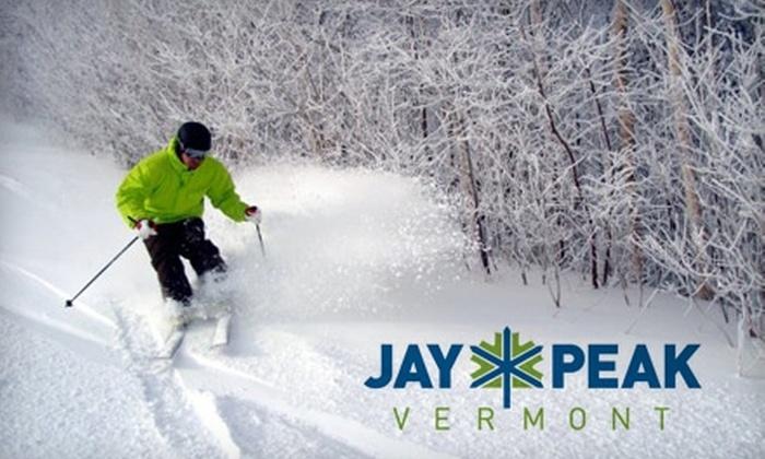 Jay Peak Resort - Jay: $45 for One Lift Ticket at Jay Peak Resort (Up to $69 Value)