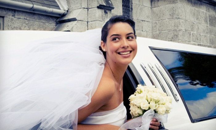 Luxury Limousine Tours Unlimited - Downtown Amarillo: $120 for a Two-Hour Wedding-Limo Service for Up to Nine Passengers from Luxury Limousine Tours Unlimited ($255 Value)