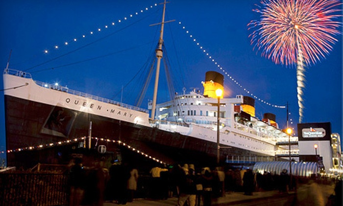 "The Queen Mary - Long Beach: $30 for Poseidon Dance Party on Saturday, May 19, and Tour of ""The Queen Mary"" in Long Beach ($60 Value)"