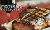 Mister B's Germantown - Memphis: $20 for $40 Worth of Steaks, Cajun Eats, and More at Mister B's Germantown