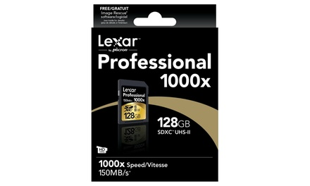Lexar 128GB 1000x SDHC/SDXC Memory Card