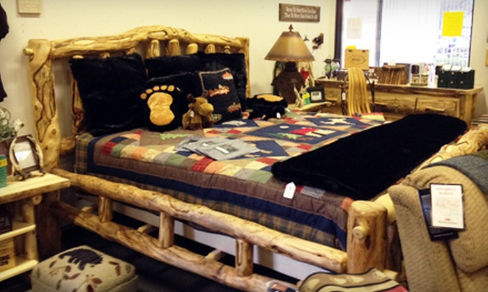 Ironton Cottage & Cabin Furniture & Home Décor - Village of Clarkston: Rustic Furniture at Ironton Cottage & Cabin Furniture & Home Décor in Clarkston (Up to 53% Off). Two Options Available.