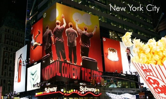 National Comedy Theater - Garment District: $9 for Improv Show and Popcorn at National Comedy Theatre