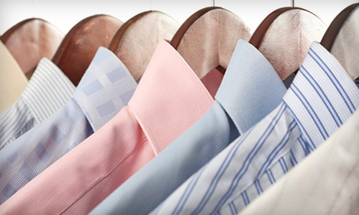 Drycleaning by Dave - Multiple Locations: Dry-Cleaning Services or Bridal Gown Preservation at Drycleaning By Dave (Half Off)