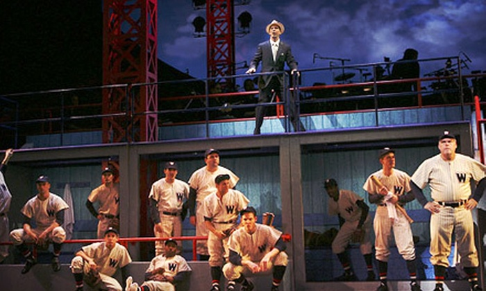 """Damn Yankees"" - River Bluffs: One Ticket to See ""Damn Yankees"" at the Rialto Square Theatre in Joliet on April 3 at 8 p.m. (Up to $44 Value)"