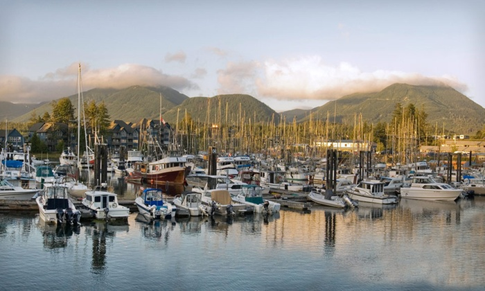 Water's Edge Resort - Ucluelet: One-, Two-, or Seven-Night Stay for Two in a One-Bedroom Luxury Suite at Water's Edge Resort in British Columbia