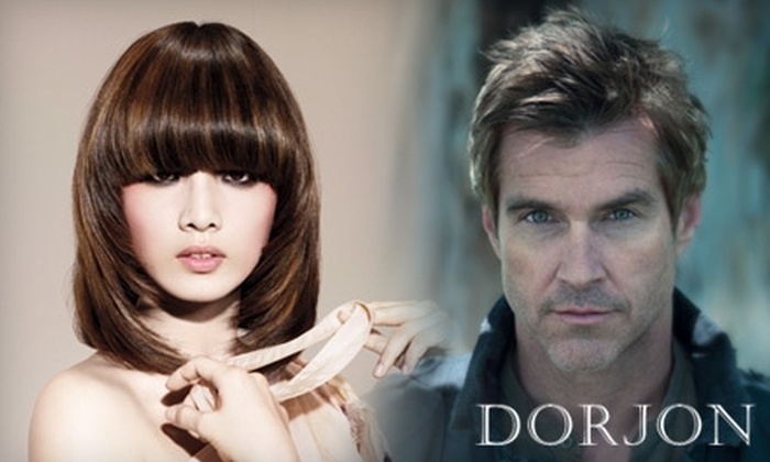 Dorjon Salon - Boca Del Mar: $20 for a Men's Haircut and Style ($40 Value) or $40 for a Women's Haircut, Blow Dry, and Conditioning Treatment ($80 Value) at Dorjon Salon