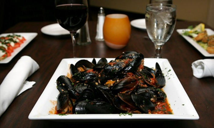 The Talk - Watertown Town: Italian Fine Dining at The Talk in Watertown. Two Options Available.