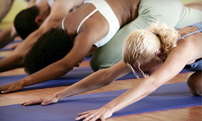 Om My Yoga - Harrisburg / Lancaster: 10 Yoga and Pilates Classes or Two Months of Unlimited Classes at Om My Yoga in Camp Hill (Up to 84% Off)