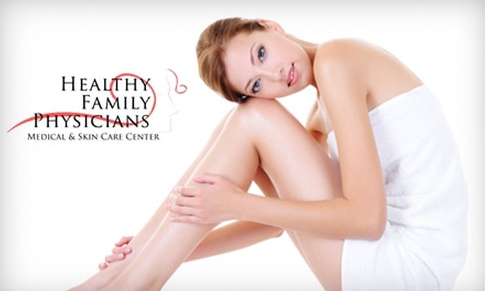 Healthy Family Physicians - Alpine: $99 for Three Laser Hair-Removal Treatments, Plus Half Off Any Three Additional Laser Treatments, at Healthy Family Physicians