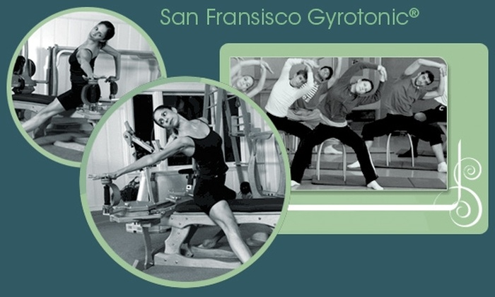 San Francisco Gyrotonic® - SoMa: 30 Days of Gyrokinesis® Classes at San Francisco Gyrotonic®