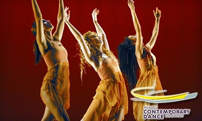 """Miami Contemporary Dance Company - City Center: One Ticket to """"Harvest Voice"""" by Miami Contemporary Dance Company. Choose from Two Ticket Options and Four Dates."""