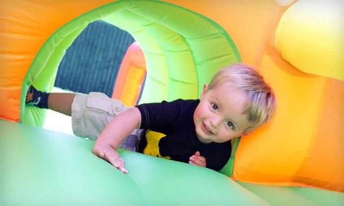 STL Jumpcastles - Saint Peters: Eight-Hour Inflatable Bounce-House or Water-Slide Rental from STL Jumpcastles (55% Off)