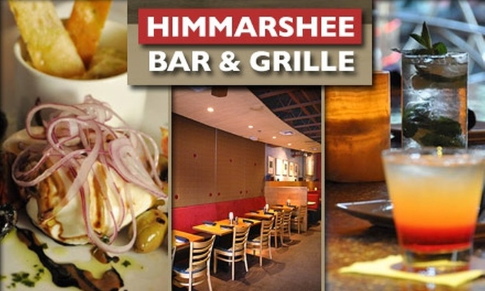 Himmarshee Bar & Grill - Sailboat Bend: $20 for $45 Worth of American Cuisine at Himmarshee Bar & Grille