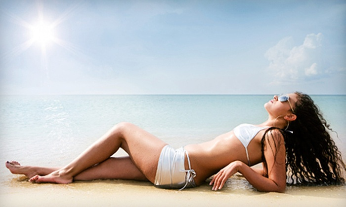 Suntana - Concord: Three Custom Spray Tans or Three Months of Unlimited UV Tanning at Suntana in Concord (Up to 70% Off)