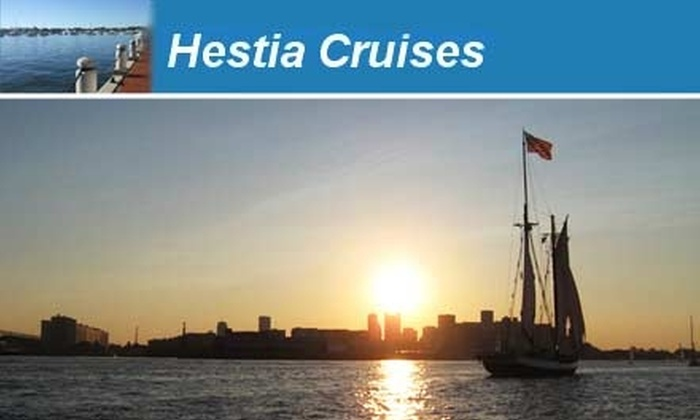 Hestia Cruises - North End: $99 for an Afternoon, Sunset, or Moonlight Cruise For Two with Hestia Cruises ($210 Value)