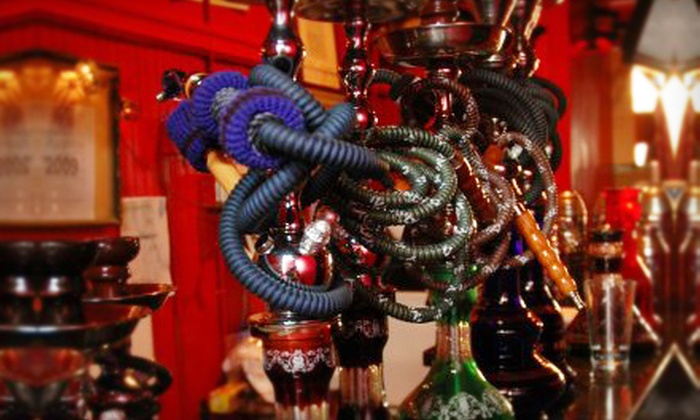 Sheesha Lounge - Allston: $15 for $30 Worth of Mediterranean Cuisine and Hookah Rental at Sheesha Lounge in Allston