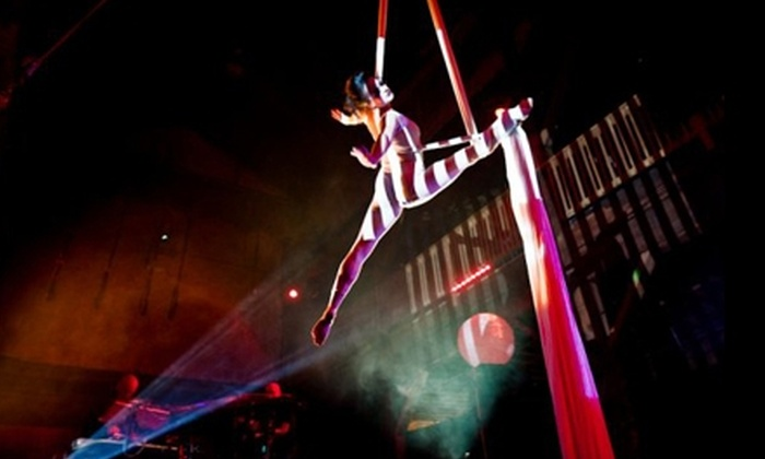 Emerald City Trapeze Arts - Industrial District East: Aerial Circus Classes at Emerald City Trapeze Arts. Three Options Available.
