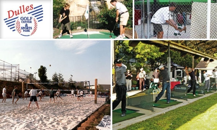 Dulles Golf Center and Sports Park - Steeplechase: Half Off Day Trip for Two to Dulles Golf Center & Sports Park