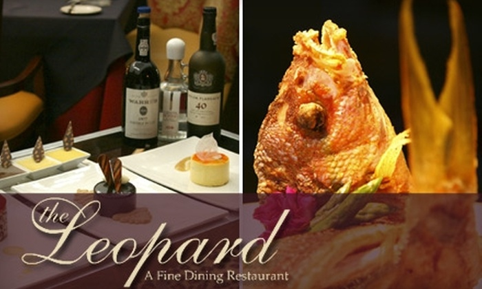 The Leopard Restaurant - Aurora: $25 for $60 Worth of Upscale Cuisine and Fine Wines at The Leopard Restaurant in Aurora