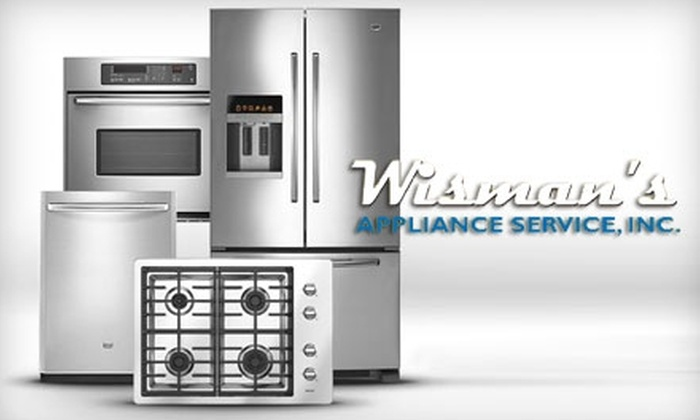 Wisman's Appliance Service, Inc. - Fort Wayne: $75 for $150 Toward Scratch-and-Dent Appliances at Wisman's Appliance Service, Inc.