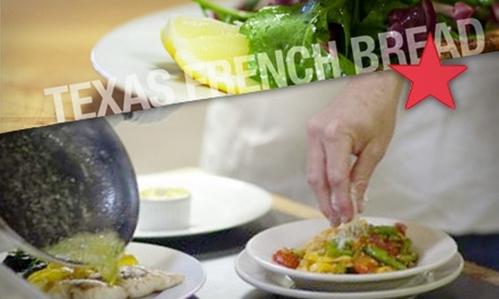 Texas French Bread - West University: $15 for $30 Worth of Locally Sourced Bistro Cuisine, Artisan Breads, and More at Texas French Bread