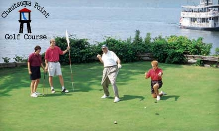 Chautauqua Point Golf Course - Chautauqua: $28 for 18 Holes of Golf for Two Plus Cart Rental at Chautauqua Point Golf Course in Dewittville ($60 Value)