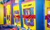 Jump N Jungle - Multiple Locations: Five or Ten Open-Playtime Sessions or One Week of Daycare at Jump N Jungle (Up to 72% Off)