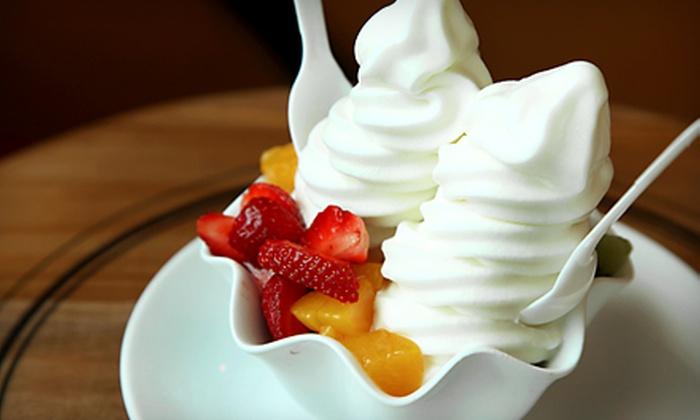 Nitro Ice Cream & Frozen Yogurt - Multiple Locations: $10 for Five Regular Cups of Ice Cream at Nitro Ice Cream & Frozen Yogurt