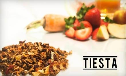 $30 Groupon to Tiesta Tea - Tiesta Tea in
