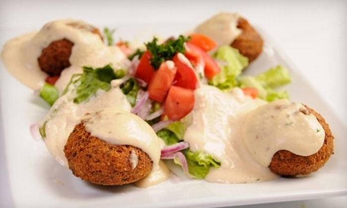 Mediterranean Bistro - Porter Ranch: $20 for $40 Worth of Authentic Mediterranean Cuisine and Drink at Mediterranean Bistro in Northridge Bistro