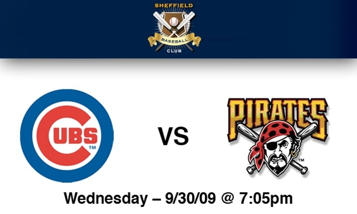 Sheffield Baseball Club - Lakeview: Cubs Rooftop Tickets: All You Can Eat & Drink Included. Buy Here for Cubs vs Pirates on 9/30 at Sheffield Baseball Club. More Games Below.