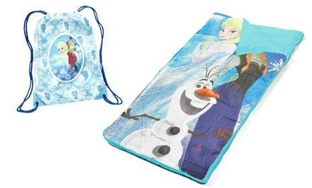 Disney's Frozen Sling Bag and Sleeping Bag