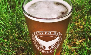 Oyster Bay Brewing Company: Craft-Beer Tasting for Two or Four at Oyster Bay Brewing Company (52% Off)