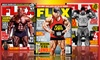 Flex Magazine: $11.99 for a 1-Year Flex Magazine Subscription (12 Issues) ($22.97 List Price). Free Shipping.
