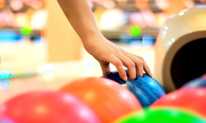 Roxbury Lanes & Casino - Highline: $15 for Game of Bowling for Four with Shoe Rental at Roxbury Lanes & Casino (Up to $32 Value)