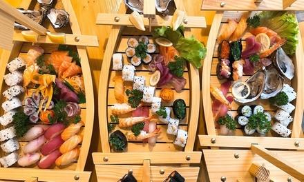 Menu sushi da asporto con birra a 19,90€euro