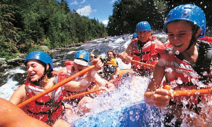 Penobscot Adventures - Millinocket: Whitewater Rafting for Two or Four from Penobscot Adventures (Up to 47% Off)