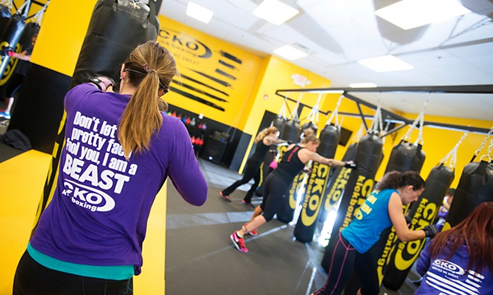 CKO Kickboxing Springfield - Springfield: Three or Six Kickboxing Classes and a Pair of Gloves at CKO Kickboxing Springfield (Up to 64% Off)