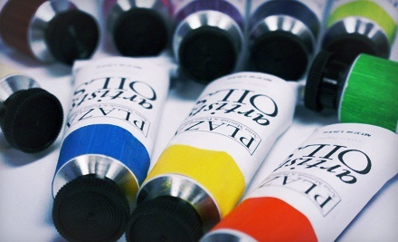 $10 for $20 Worth of Art Supplies at Plaza Artist Materials & Picture Framing