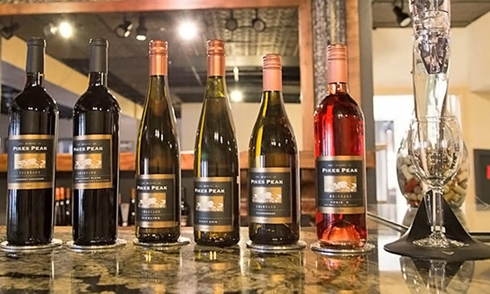 The Winery at Pikes Peak - The Winery at Pikes Peak: $25 for a Wine Flight with Cheese, Meats, and Sweets for Two at The Winery at Pikes Peak ($50 Value)