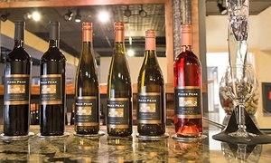 The Winery at Pikes Peak: $25 for a Wine Flight with Cheese, Meats, and Sweets for Two at The Winery at Pikes Peak ($50 Value)