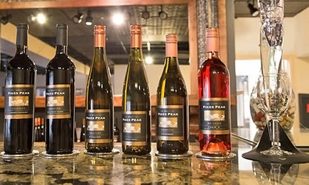 Wine-and-Cheese Tasting for Two or Cheese Board, Dessert Paring, and Wine at The Winery at Pikes Peak (50% Off)
